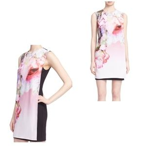 Ted Baker Milisa Floral Mini Shift Dress NWT